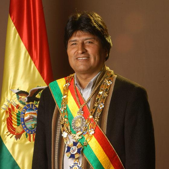Evo forever in Bolivia
