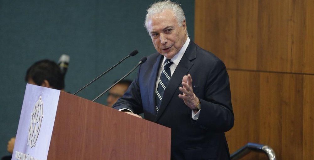 L'arresto di Temer scuote il Brasile