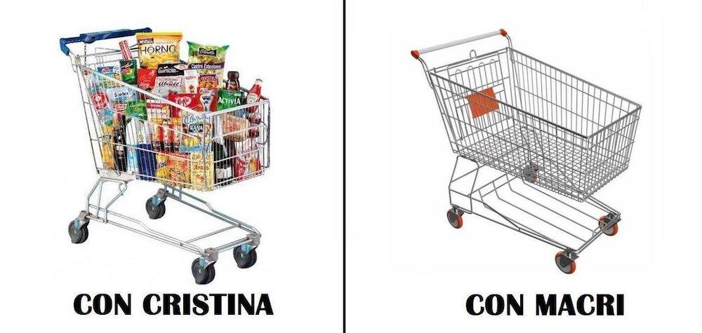 Con Macri Argentina a rotoli