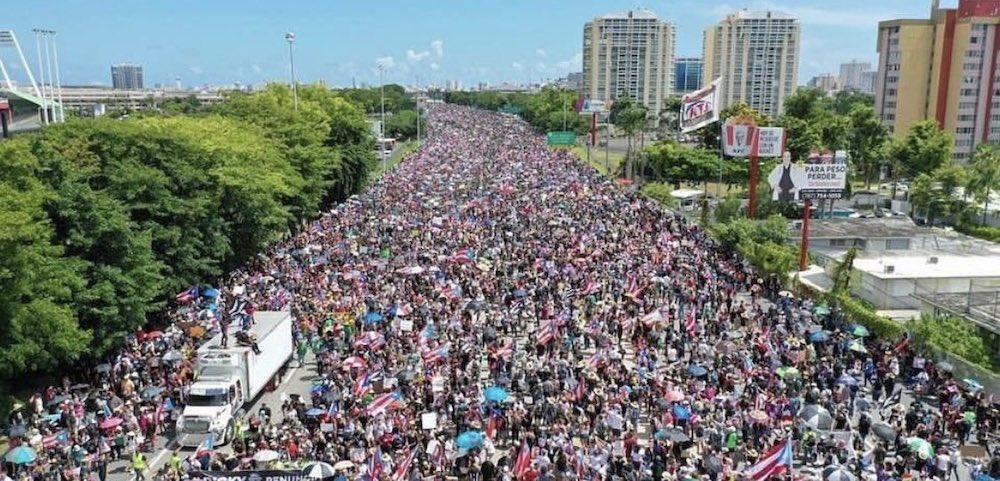 Via Rosselló, Portorico cerca il riscatto