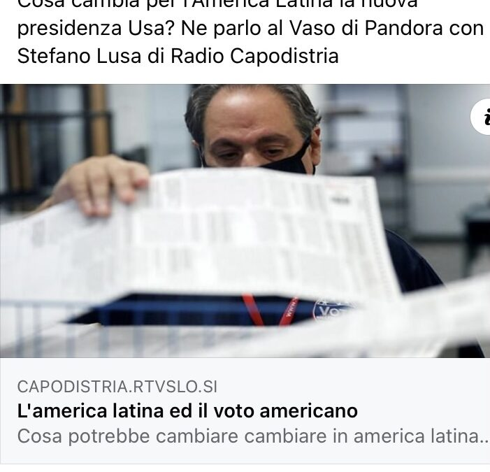 L'America Latina e il voto americano.
